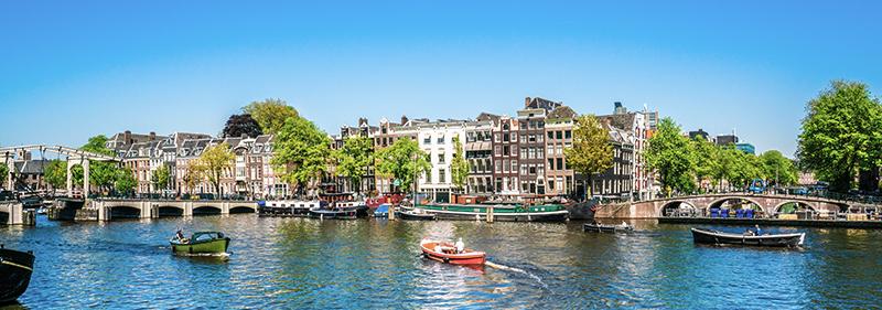 Vaarroute Amsterdam-Alkmaar